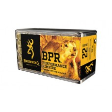 22 Long Rifle Browning BPR Ammunition 37 Grain Fragmenting Hollow Point Box of 50 B194122050