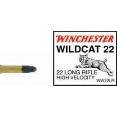 22 Long Rifle Winchester Wildcat LRN 50 Rd. Box CQWW22LR