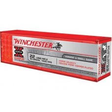 22 Long Rifle WINCHESTER Super-X 40 Grain Hyper Speed Plated Hollow Point 100Rds. XHV22LR