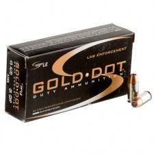 Speer Gold Dot Law Enforcement LE Duty 45 ACP AUTO Ammo 185 Grain Jacketed Hollow Point packaged in boxes of 50 53964