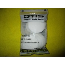 """Otis All Caliber Cleaning Patches 3"""" 100 Pack Cotton FG919100"""