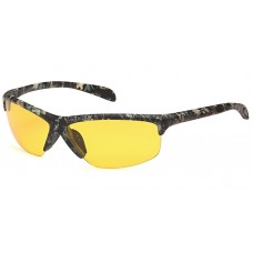 Camouflage Polarized Night Driving Ultra light weight half frame wrap CAMO8NDP