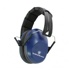 Smith & Wesson Low Profile Blue Range Muffs 110093 25 NRR